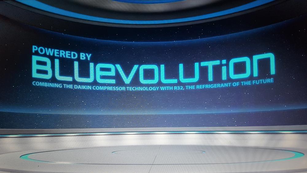 Powered by Bluevolution - Daikin Compressor technology